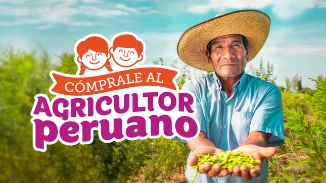 """Ver campaña Campaña:""""Cómprale al agricultor peruano"""""""