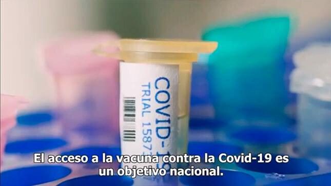 Ver campaña El acceso a la vacuna contra la Covid-19 es un objetivo nacional.