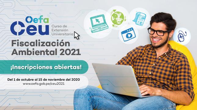 Ver campaña Curso de Extensión Universitaria en Fiscalización Ambiental 2021