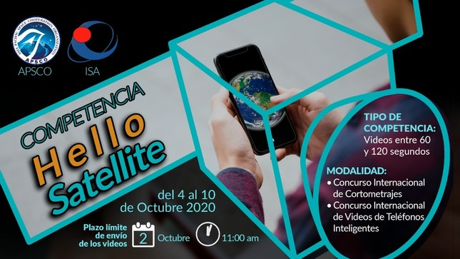 Ver campaña Concurso internacional Hello Satellite