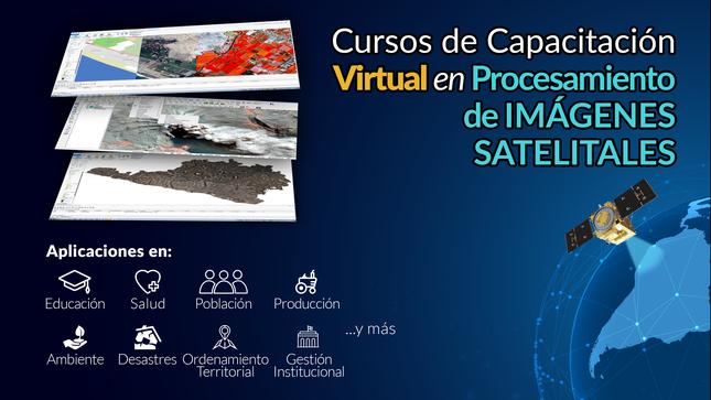 Ver campaña Cursos gratuitos de capacitación en Procesamiento de imágenes satelitales