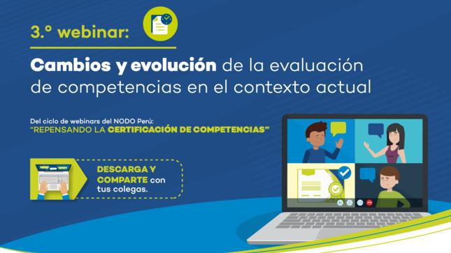"""Webinar """"Cambios y evolución de la evaluación de competencias"""""""