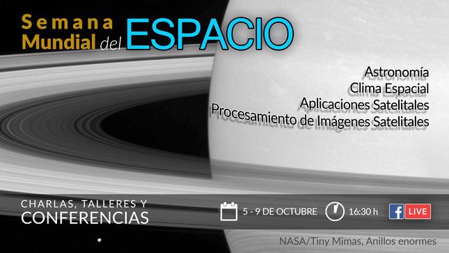 """Ver campaña """"Satellite Improve Life"""", Semana Mundial del Espacio 2020"""