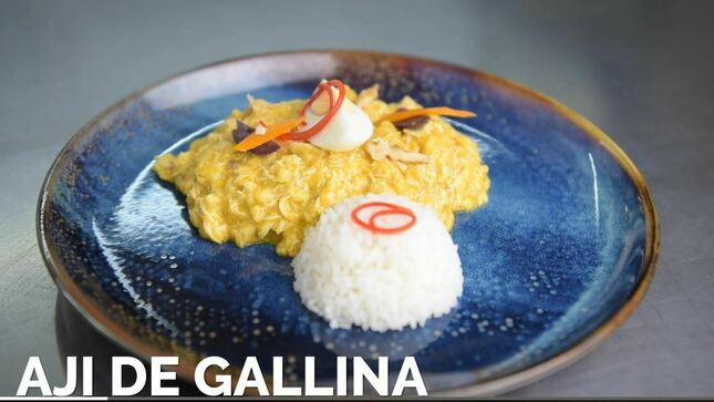 Ver campaña Episodio 2: Ají de gallina de Fuego y Sabor - Día de la Cocina y la Gastronomía Peruana