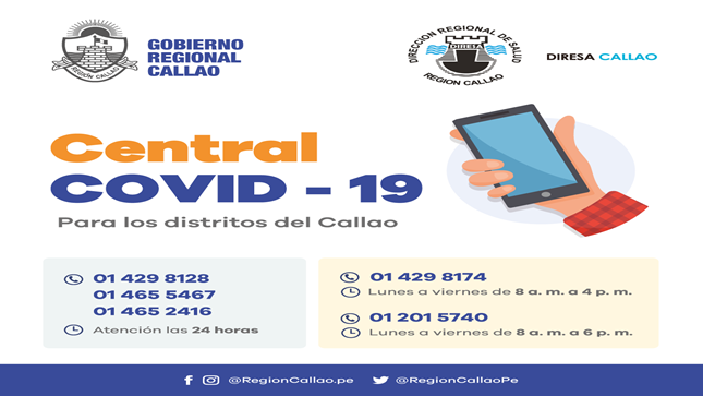 Ver campaña Central COVID-19