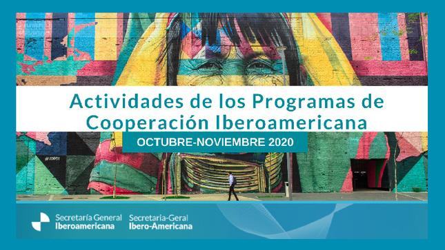 Ver campaña Cronograma de actividades de la Cooperación Iberoamericana