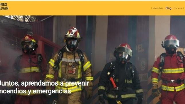 Ver campaña Lecciones que salvan vidas, plataforma virtual que busca fomentar la cultura de prevención en la población peruana.