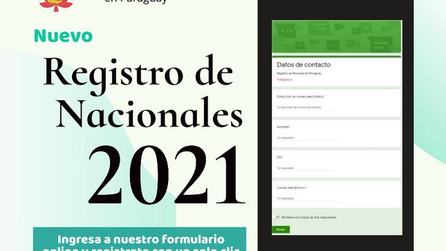 Ver campaña Nuevo registro de nacionales peruanos en Paraguay