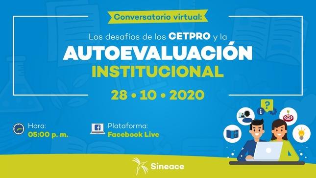 Ver campaña Conversatorio virtual: Los desafíos de los CEPTRO y la autoevaluación institucional