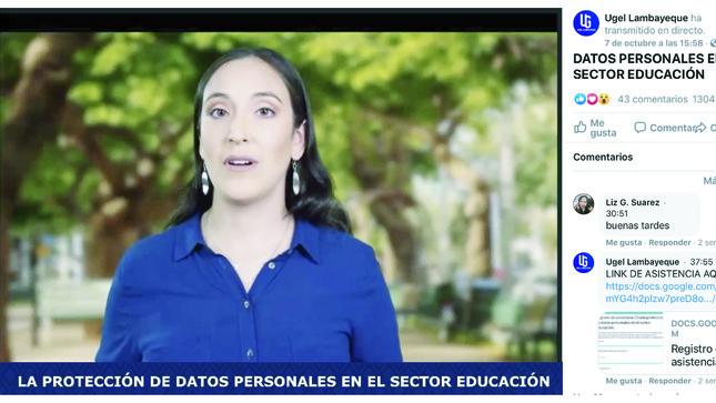 Ver campaña #YoCuidoMisDatosPersonales  Ugel - 2020