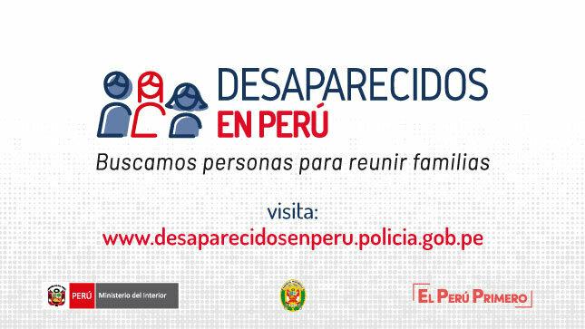 Ver campaña Desaparecidos en Perú