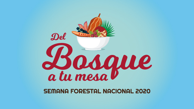 """Semana Forestal Nacional 2020  """"Del bosque a tu mesa"""""""