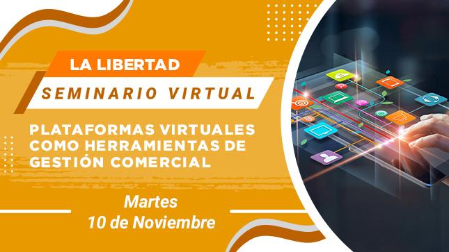 Ver campaña Seminario Virtual: Plataformas Virtuales como Herramientas de Gestión Comercial