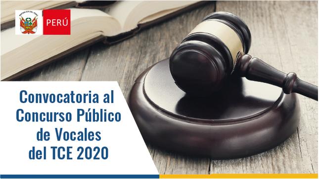 Ver campaña Convocatoria Nº 002- 2020-OSCE/VTCE - Concurso público de evaluación y selección de vocales del Tribunal de Contrataciones del Estado del OSCE