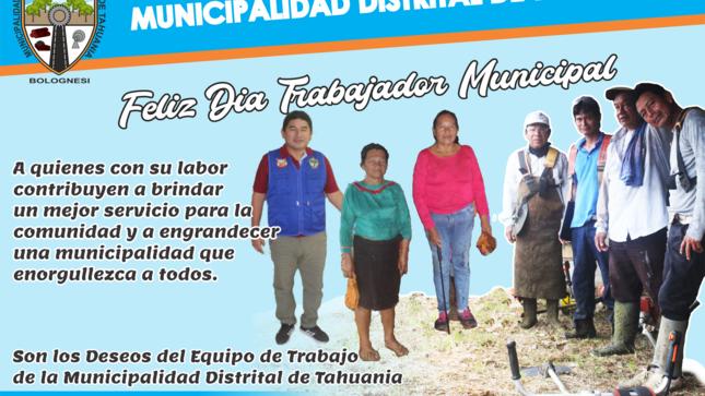 Ver campaña SALUDOS AL TRABAJADOR MUNICIPAL