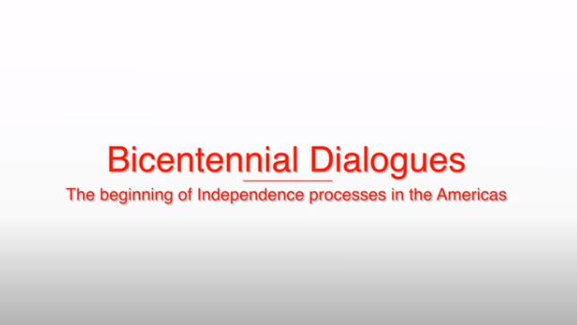 Ver campaña Diálogos del Bicentenario - Programa de Promoción Cultural