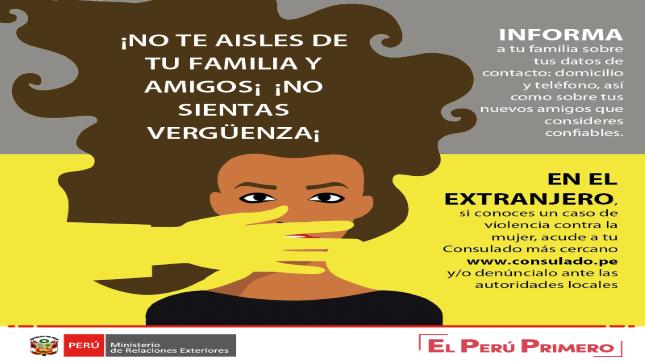 Ver campaña Violencia contra la mujer