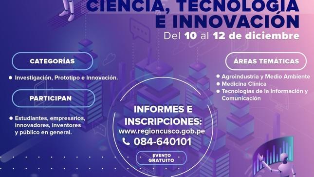 Ver campaña Primera Feria Virtual de Ciencia, Tecnología e Innovación