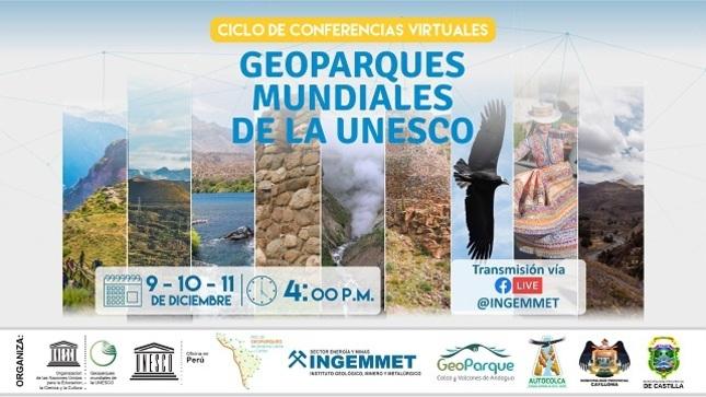 Ver campaña Ciclo de Conferencias Virtuales - Geoparques Mundiales de la UNESCO
