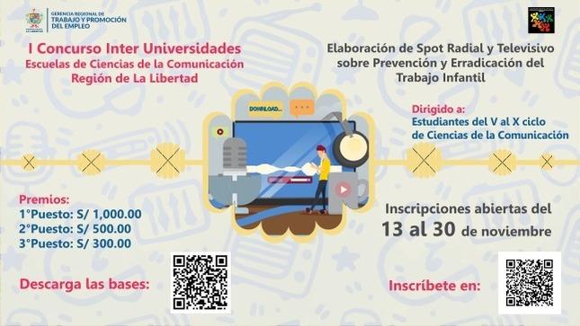Ver campaña I Concurso Inter Universidades  Escuelas de Ciencias de la Comunicación Región de La Libertad