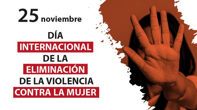 Ver campaña Día Internacional de la Eliminación de la Violencia contra la Mujer