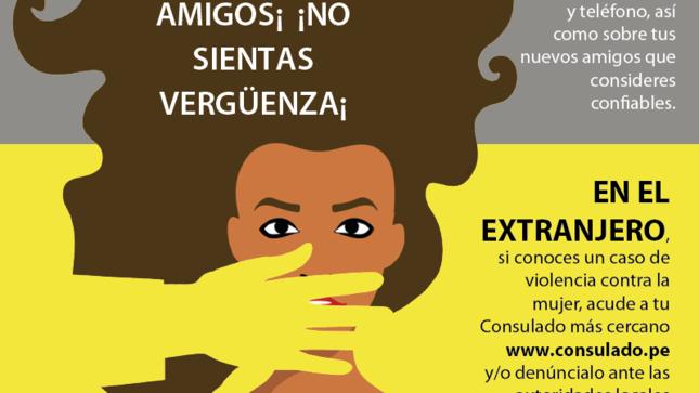 Protege tus derechos – Prevención de la violencia contra la mujer