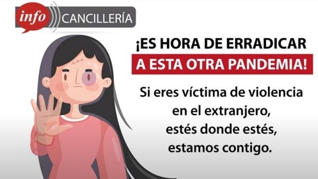 Ver campaña Si eres víctima de violencia, podemos ayudarte