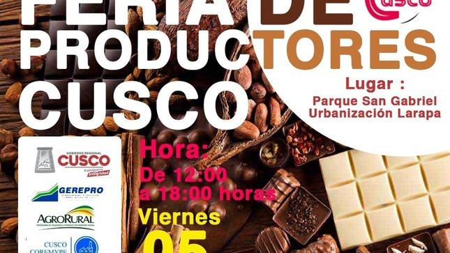 Ferias Itinerantes de emprendimiento organizadas por la DIREPRO Cusco.
