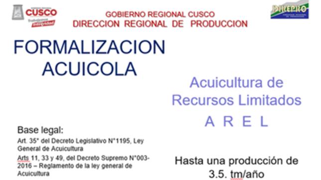 Ver campaña Formalizacion Acuícola Regional.
