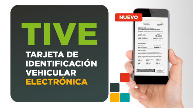 Ver campaña Tarjeta de identificación vehicular electrónica - TIVE