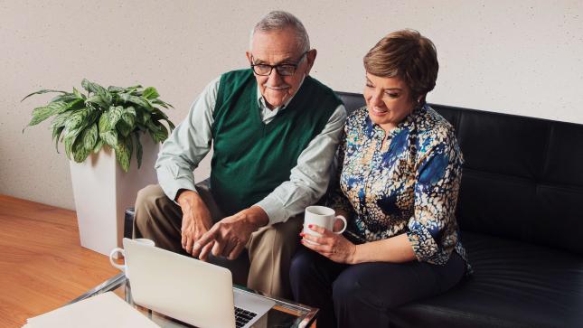 Ver campaña Realiza todas tus gestiones desde la seguridad de tu hogar a través de ONP Virtual