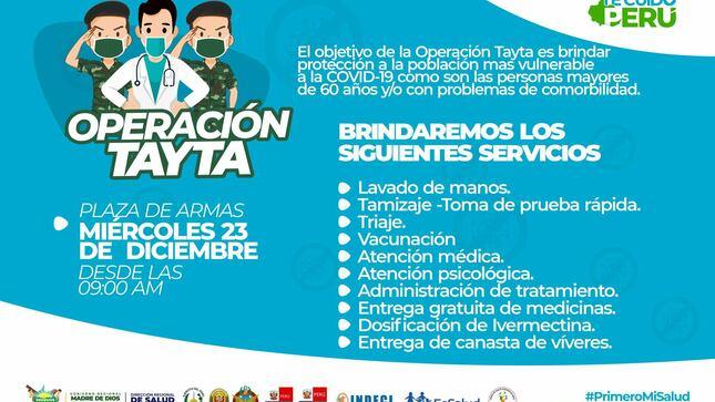 Ver campaña Operación Tayta