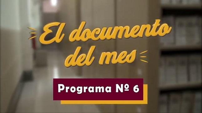 """Ver campaña AGN presenta el sexto microprograma """"El documento del mes"""" (noviembre 2020)"""