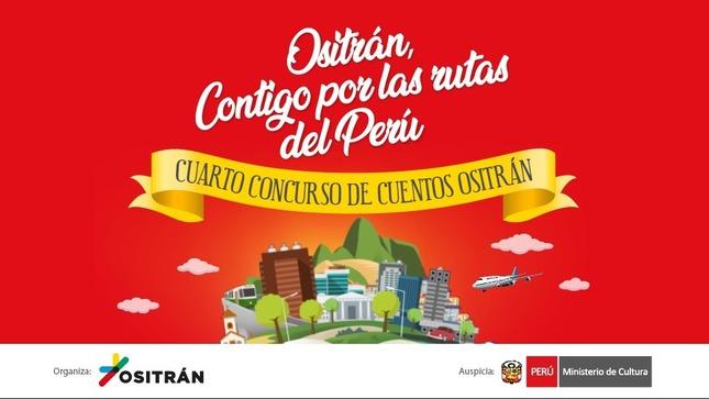 """Concurso de Cuentos """"Ositrán contigo por las rutas del Perú"""""""