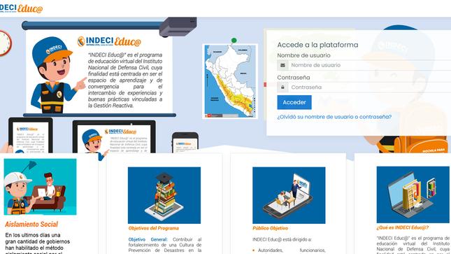 """Ver campaña Cursos virtuales: """"Mapa Comunitario de Riesgos"""" edición 7-2020  """"Plan Familiar de Emergencia"""" edición 12-2020"""