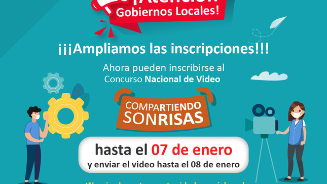 """Ver campaña Concurso Nacional de Video """"Compartiendo Sonrisas"""""""