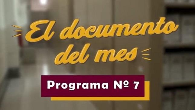 """Ver campaña AGN presenta el séptimo microprograma """"El documento del mes"""" (diciembre 2020)"""