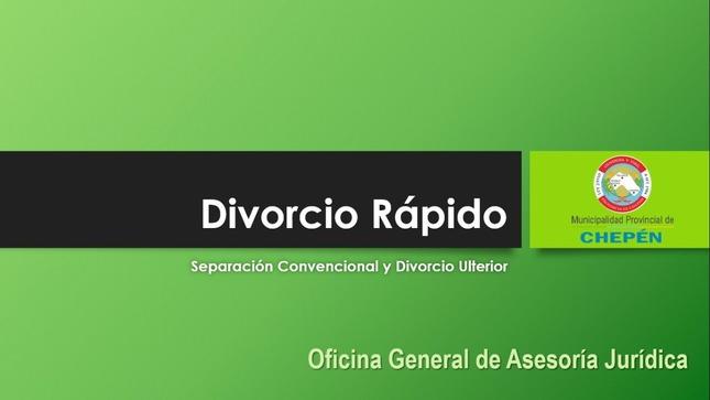 Divorcio rápido