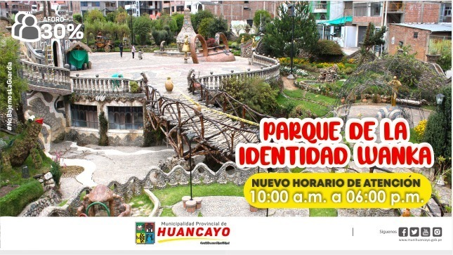 Ver campaña Nuevo horario del Parque Identidad Wanka