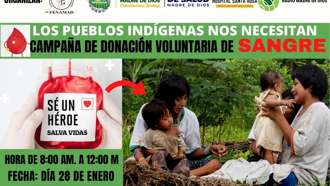 Ver campaña Campaña de Donación Voluntaria de Sangre