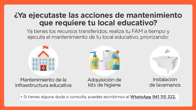 Ver campaña Programa de Mantenimiento de locales educativos 2021