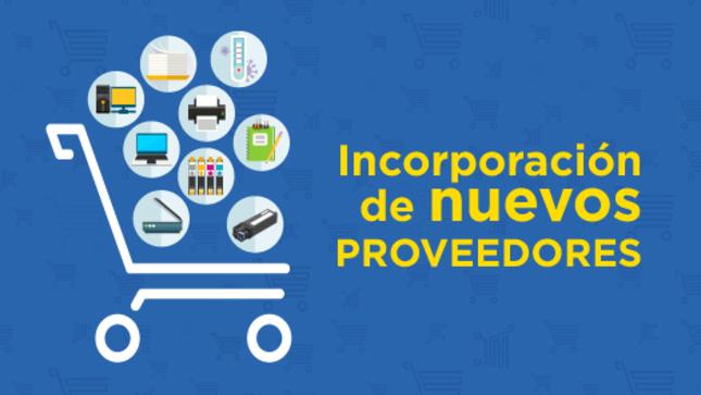 Ver campaña Participa en la convocatoria de incorporación de nuevos proveedores