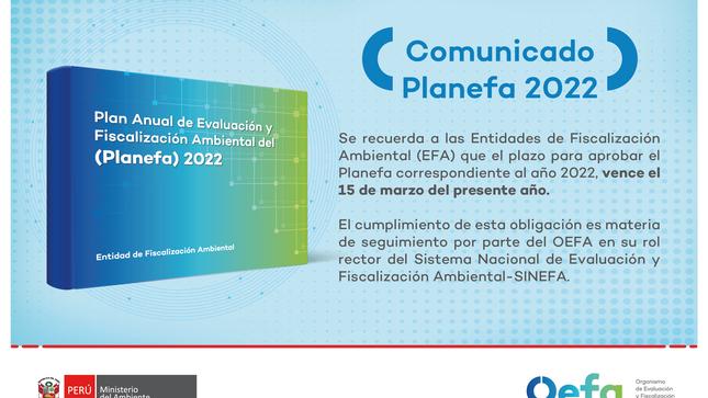 Ver campaña Aprobación del Planefa 2022