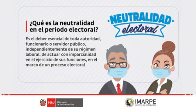 ¿Qué es la neutralidad en el periodo electoral?