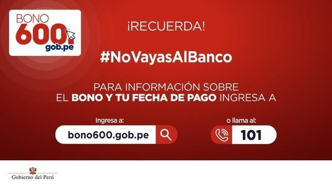 Ver campaña Conoce más sobre el Bono 600