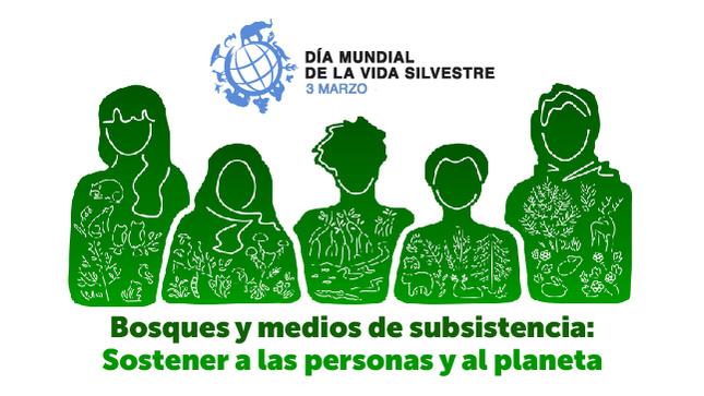 """Ver campaña Día Mundial de la Vida Silvestre 2021 """"Bosques y Medios de Subsistencia: Sostener a las Personas y al Planeta"""""""