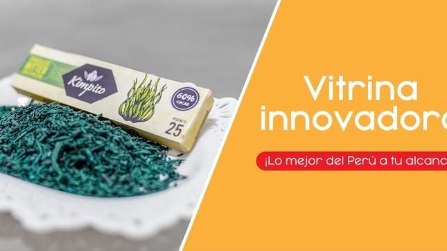 Ver campaña Vitrina Innovadora ¡Lo mejor del Perú a tu alcance!