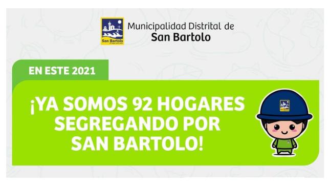 Ver campaña Únete al Programa de Segregación de Residuos Sólidos