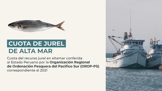 Ver campaña Cuota de jurel de alta mar