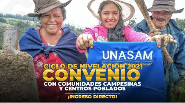 Ver campaña Ciclo de Nivelación 2021 Convenio con Comunidades Campesinas